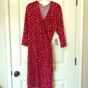 LuLaRoe Michelle wrap dress - Brand New with Tags
